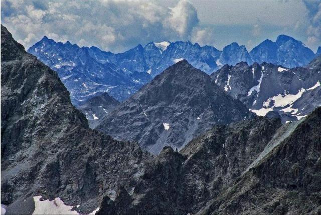 Zdjęcia: St. Moritz, Szczyty nad St. Moritz, SZWAJCARIA