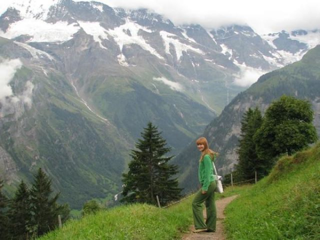 Zdjęcia: Wysoko w górach, Srodkowa Szwajcaria, Gimmelwald-tam czas się zatrzymał..., SZWAJCARIA