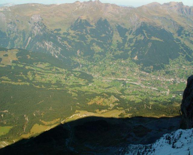 Zdjęcia: Grindelwald, Panorama Grindelwaldu, SZWAJCARIA