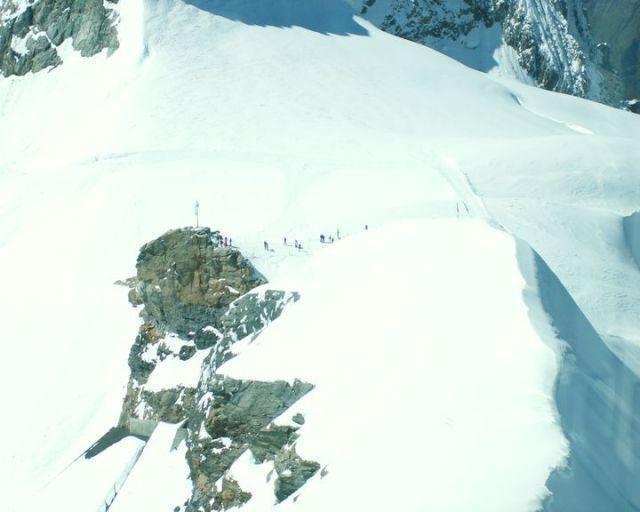 Zdjęcia: Jungfraujoch, Amatorzy wspinaczki - a może profesjonaliści..., SZWAJCARIA