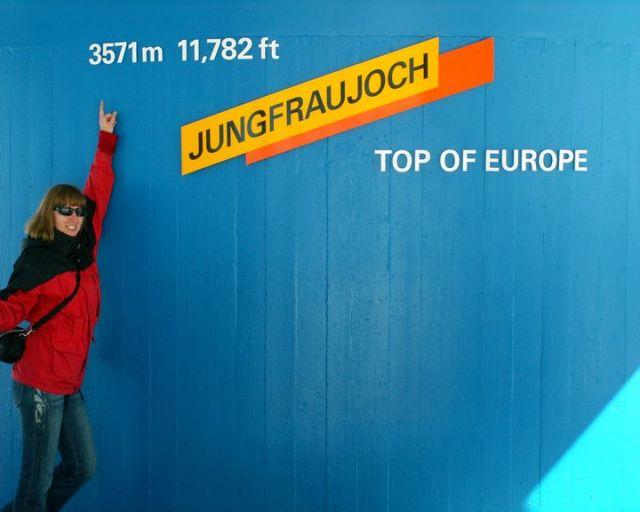 Zdjęcia: Top of Europe, Chociaż cm wyżej, SZWAJCARIA
