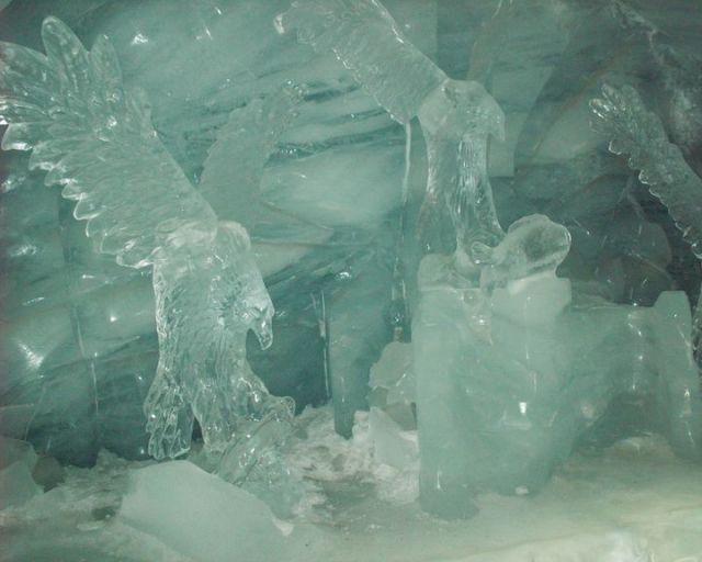 Zdjęcia: Jungfraujoch, Pałac lodowy, SZWAJCARIA