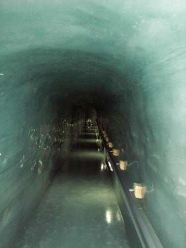 Zdj�cia: Jungfraujoch, Wiatr nad lodowcem, SZWAJCARIA