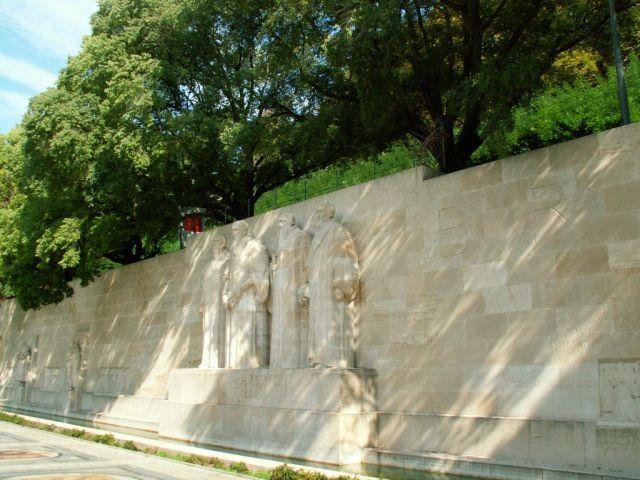 Zdjęcia: Genewa, Pomnik reformacji -  między innymi  Kalwin, SZWAJCARIA