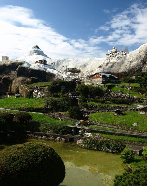 Zdjęcia: Park miniatur, Lugano , krajobrazy szwajcarii, SZWAJCARIA