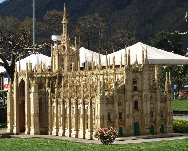 Zdjęcia: Park miniatur, Lugano , Duomo?, SZWAJCARIA