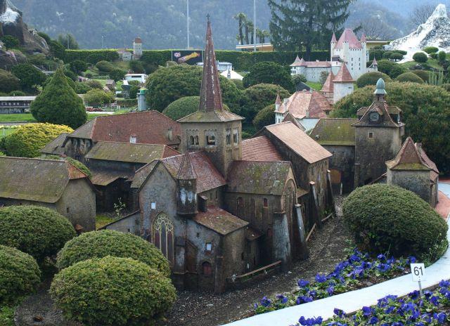 Zdjęcia: Park miniatur, Lugano , zamek nr... 61, SZWAJCARIA