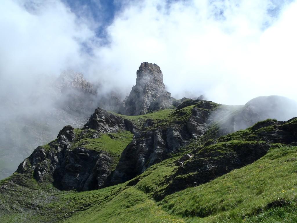Zdjęcia:  Alpy Berneńskie, Vaud, Dent de Morcles, SZWAJCARIA