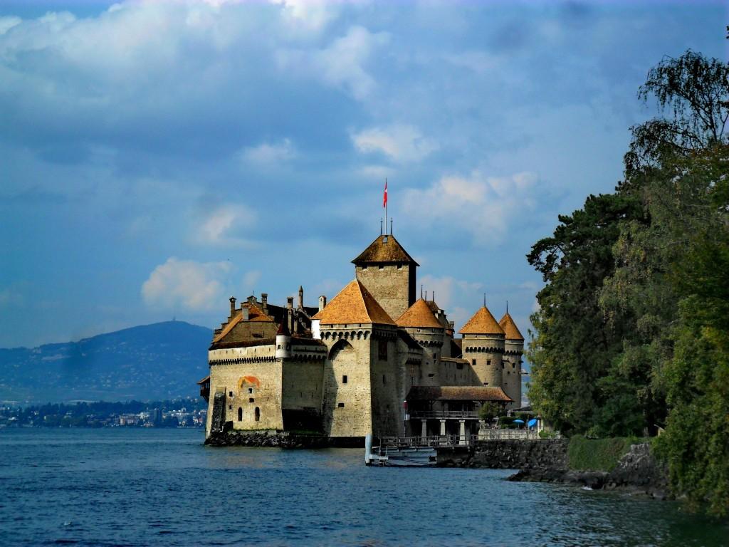 Zdjęcia: Montreaux, Szwajcaria, Chillon, SZWAJCARIA