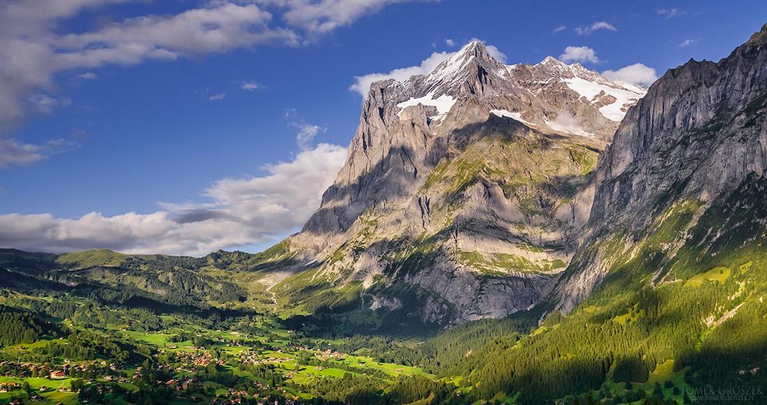 Zdjęcia: Grindewald, Berno, Wetterhorn, SZWAJCARIA