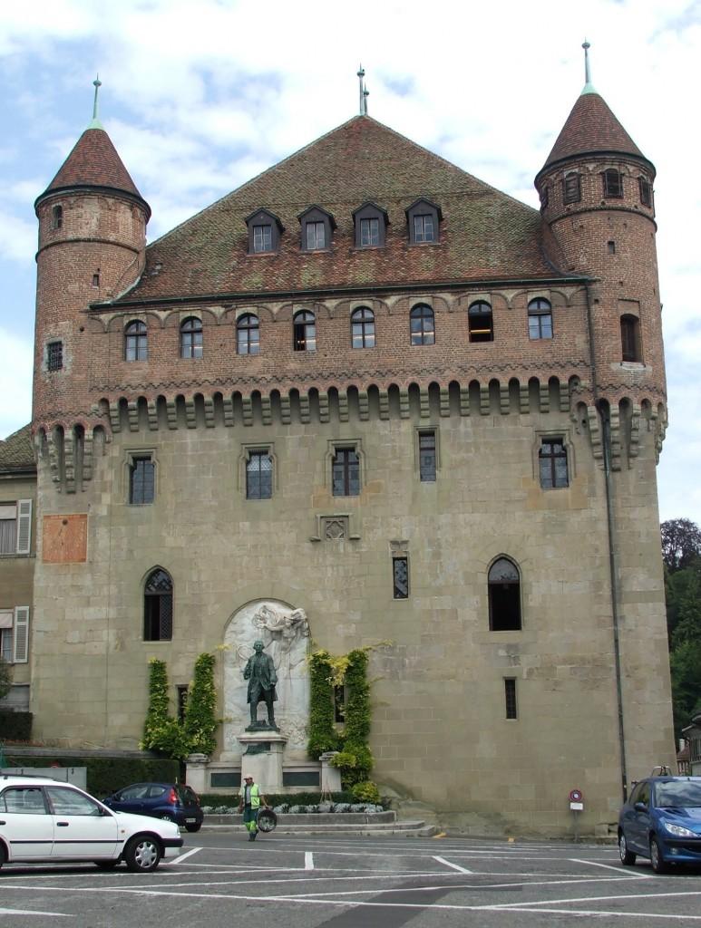 Zdjęcia: Lozanna, Kanton Vaud, Zamek Saint-Maire, SZWAJCARIA
