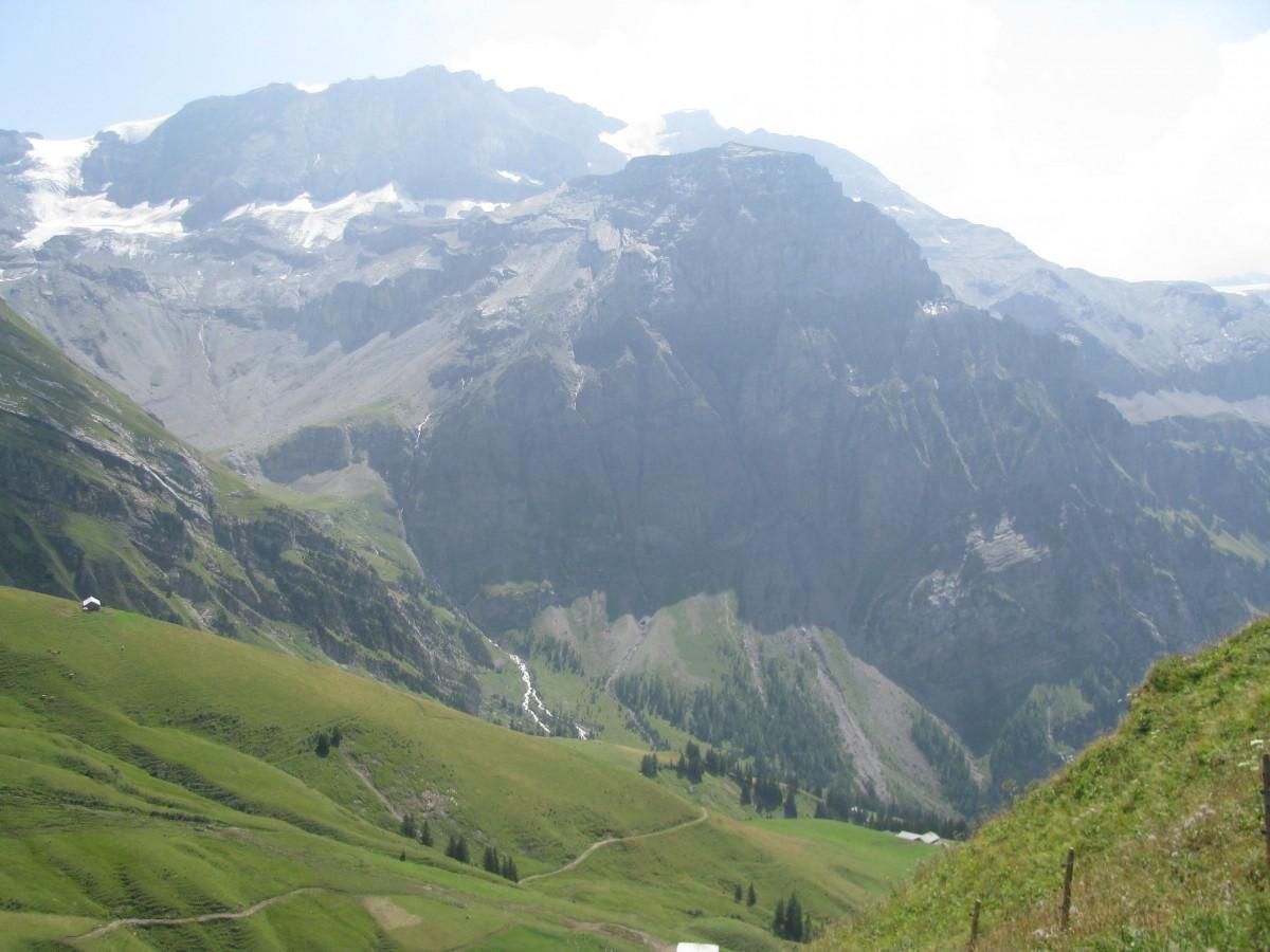 Zdjęcia: Lenk, Oberland Berneński, Potęga gór, SZWAJCARIA