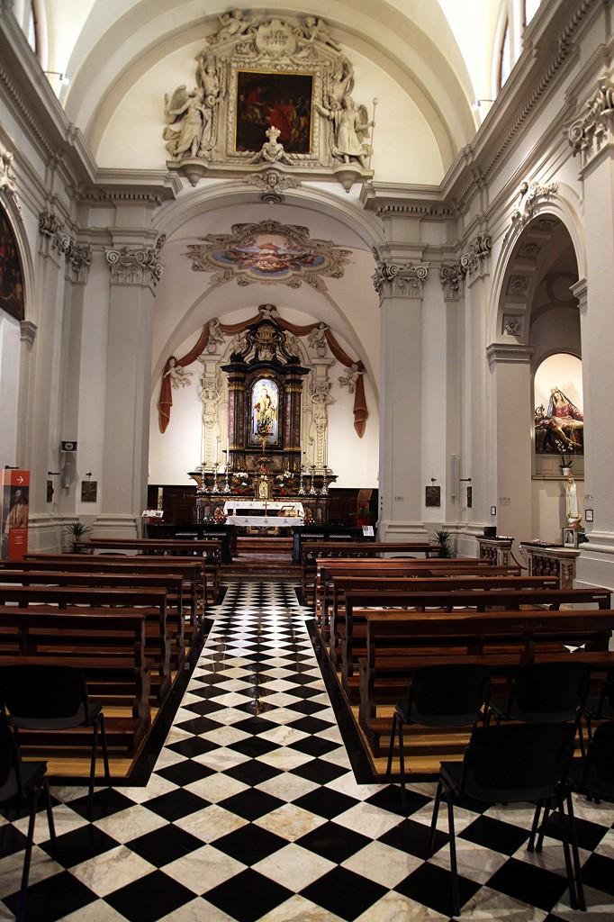 Zdjęcia: Lugano, Ticino, Kościół pw. św. Karola Boromeusza, SZWAJCARIA