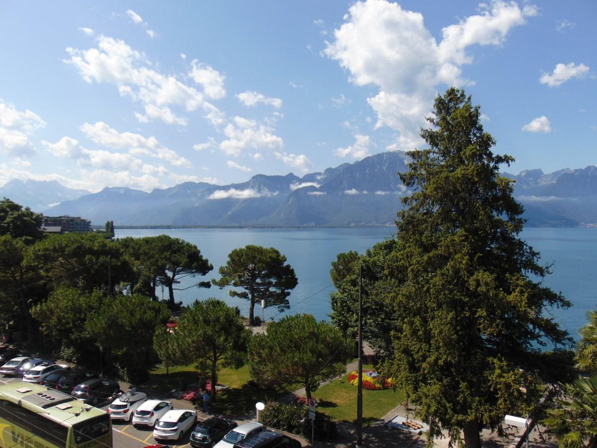 Zdjęcia: jezioro, montreux, góry, SZWAJCARIA