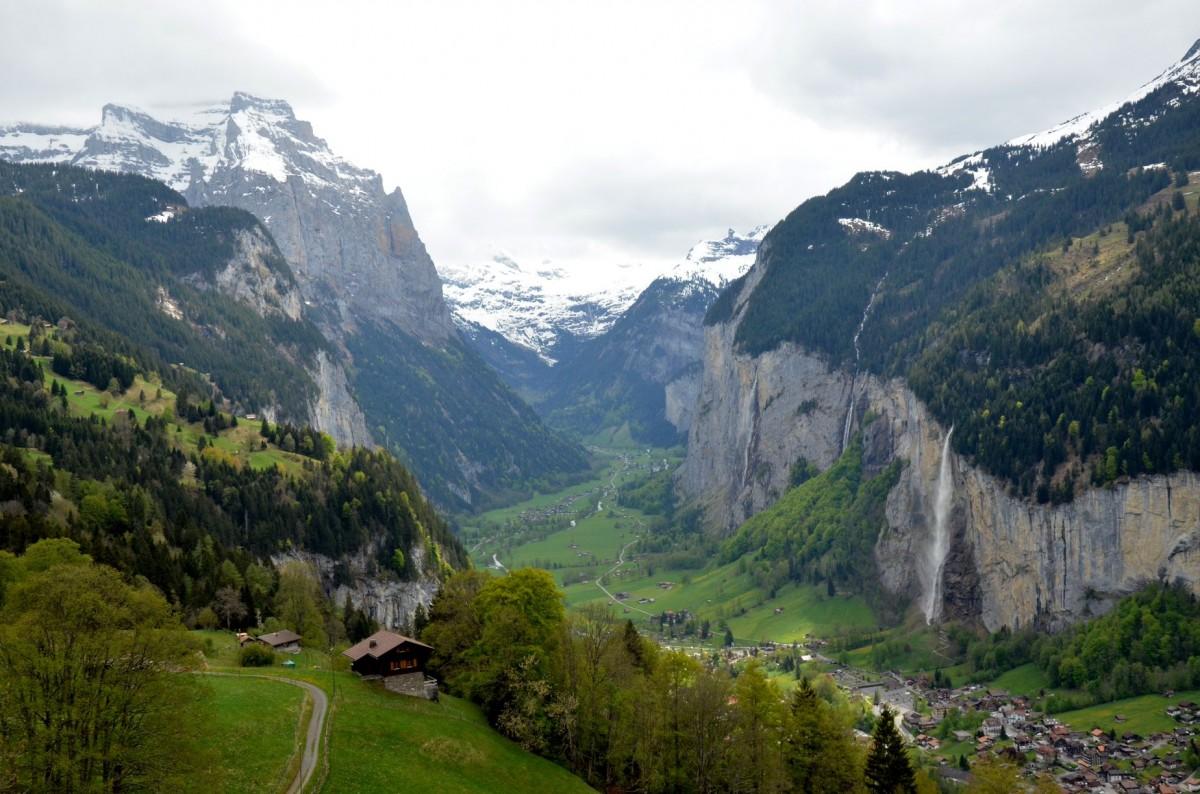 Zdjęcia: w drodze na Jungfrau, Alpy, Alpy Berneńskie, SZWAJCARIA