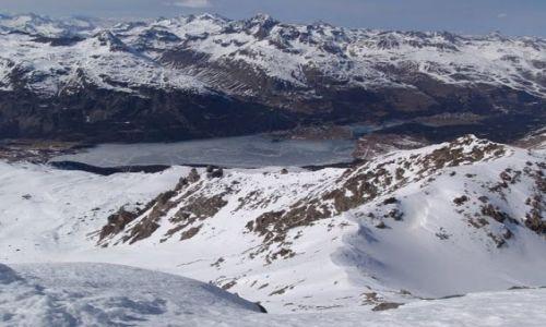 SZWAJCARIA / St. Moritz / Corvatsch / Widok z Corvatsch - 3451 m n.p.m.
