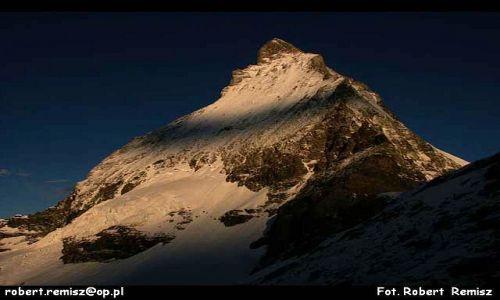 Zdjecie SZWAJCARIA / Alpy / Matterhorn / PIRAMIDA  EUROPY