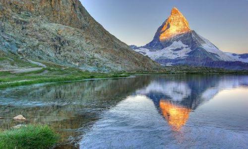 Zdjecie SZWAJCARIA / - / Zermatt / Władca Alp