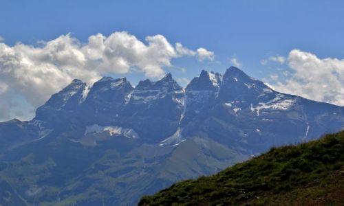 Zdjecie SZWAJCARIA / Valais / Les Crosets / Zeby poludniowe