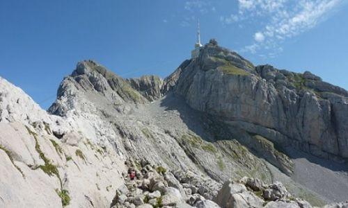 Zdjecie SZWAJCARIA / Alpy / gora Santis / Alpy -widoki