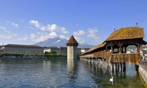 SZWAJCARIA / Kanton Lucerna / Lucerna / Most Klasztorny