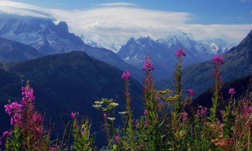 SZWAJCARIA / Alpy / okolice lac d Emosson / w alpach