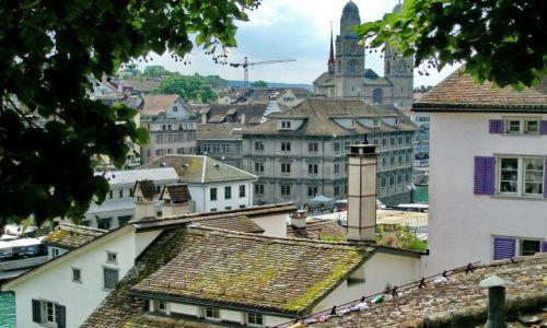 SZWAJCARIA / Zurich / Zurich / Dachy Zurichu