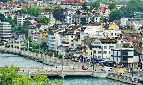 SZWAJCARIA / Zurich / Zurich / Piękny Zurich