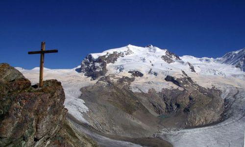 Zdjecie SZWAJCARIA / - / Alpy Walijskie / Masyw Monte Rosa
