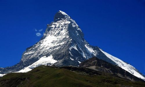 Zdjęcie SZWAJCARIA / - / Alpy Walijskie / Matterhorn 4478 m npm