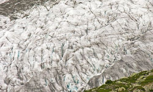 Zdjęcie SZWAJCARIA / Valais / Lodowiec Aletsch / Lodowiec pod lupą