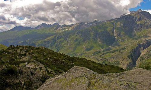 SZWAJCARIA / Valais / okolice lodowca Aletsch / Wokół lodowca Aletsch