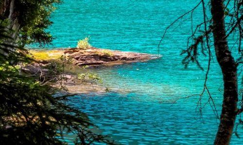 Zdjęcie SZWAJCARIA / Valais / Lag la Cauma / Jezioro o fajnym kolorze wody