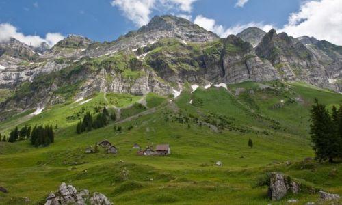 Zdjecie SZWAJCARIA / - / alpy Szwajcarskie / Wiosna w Alpach