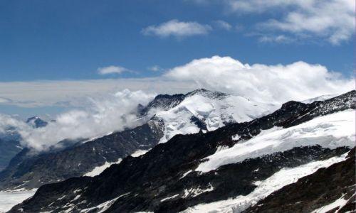 SZWAJCARIA / Alpy Berneńskie / Jungfraujoch  / Jungfrau 4158