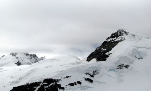 Zdjęcie SZWAJCARIA / Alpy Berneńskie / Jungfrau / ...a tymczasem w Alpach na ponad 4 tys. metrów :)