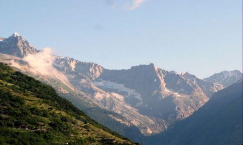Zdjecie SZWAJCARIA / Alpy Berneńskie / Valais / Alpy w kantonie