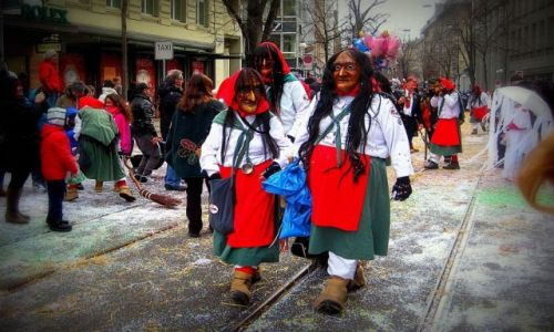 Zdjecie SZWAJCARIA / Zurich Kanton / Zurich / Carnival Zurich 2013