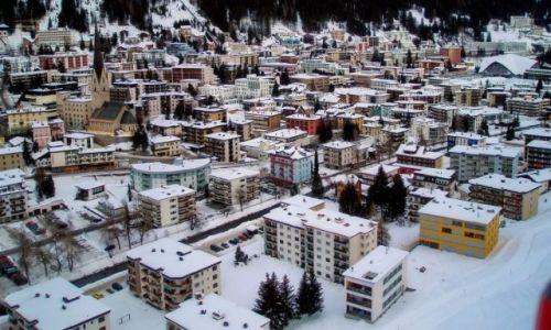 Zdjęcie SZWAJCARIA / Davos / Davos / Widok z kolejki