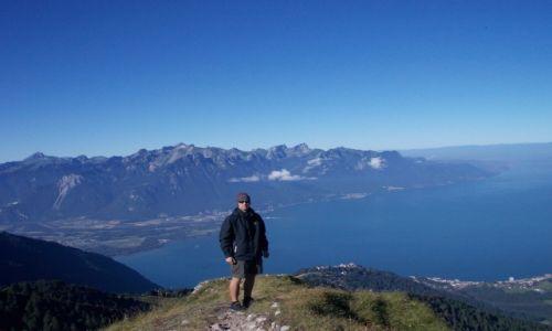 Zdjęcie SZWAJCARIA / Vaud / Lozanna / Jezioro Genewskie z Dent de Jaman