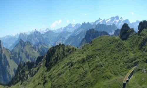 Zdjęcie SZWAJCARIA / Vaud / Alpy / Panorama Alpy