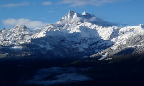 Zdjęcie SZWAJCARIA / Vaud / Les Possess Sur Bex / Winter is coming