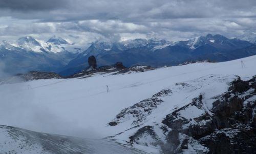 Zdjęcie SZWAJCARIA / Vaud / Glacier 3000 / Widok z lodowca