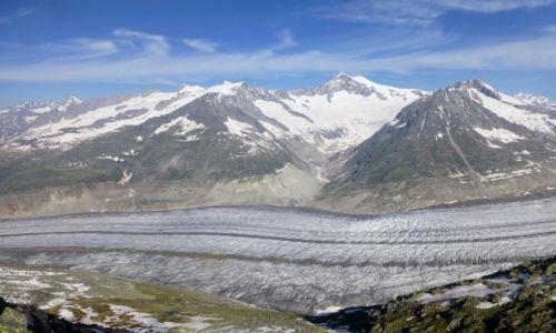 Zdjecie SZWAJCARIA / -Szwajcaria / Eggishorn ponad 30000mnpm /
