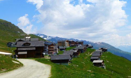 Zdjęcie SZWAJCARIA / -Szwajcaria / Eggishorn ponad 30000mnpm / wioska Fiescheralp -ok.2400mnpm