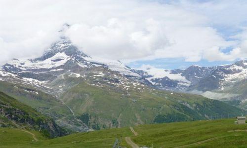 Zdjecie SZWAJCARIA / Szwajcaria / Zermatt / Matterhorn coraz bliżej