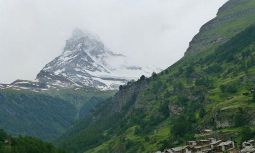 Zdjecie SZWAJCARIA / Zermatt / Gornergrat / Matterhorn górujący nad Zermatt