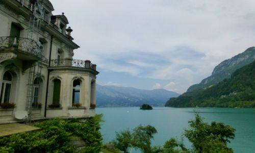 Zdjecie SZWAJCARIA / okolice Interlaken / Iseltwald / Seeburg nad jeziorem Brienzer