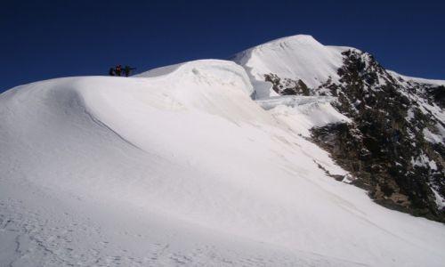 Zdjecie SZWAJCARIA / Kanton Valais / Alpy Zachodnie / Zdobyć Weissmies 4017m n.p.m.