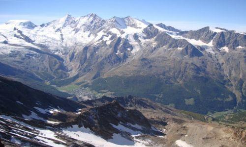 Zdjęcie SZWAJCARIA / Alpy Pennińskie / Alpy / Góry Wysokie.